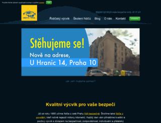 autoskolacrkva.cz screenshot