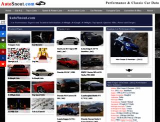 autosnout.com screenshot