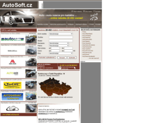 autosoft.cz screenshot