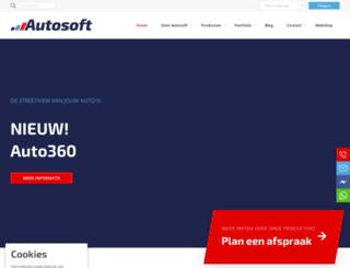 autosoft.nl screenshot