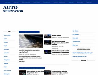 autospectator.com screenshot