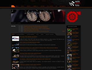 autosportfoto.sk screenshot