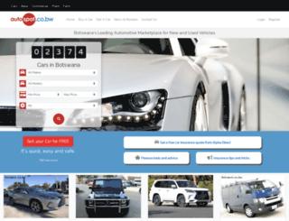autospot.co.bw screenshot