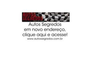 autossegredos.blogspot.com screenshot