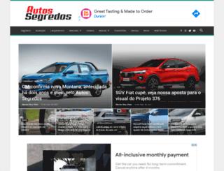 autossegredos.com.br screenshot