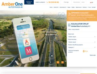 autostradaa1.pl screenshot