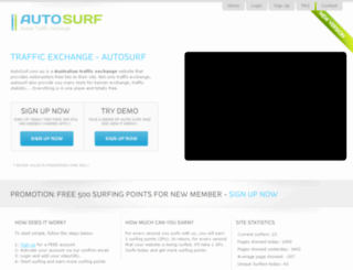 autosurf.com.au screenshot