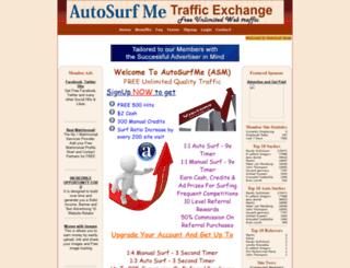autosurfme.com screenshot