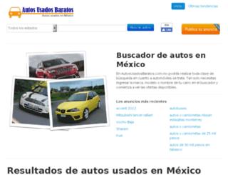 autosusadosbaratos.com.mx screenshot