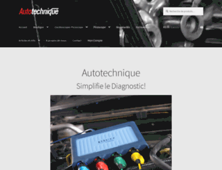 autotechnique.fr screenshot
