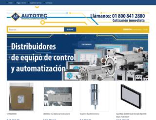 autotecmex.com.mx screenshot