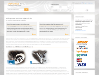 autoteile-info.de screenshot