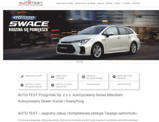autotest.com.pl screenshot