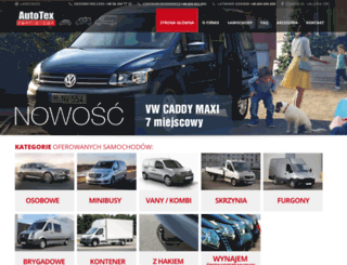 autotex.com.pl screenshot