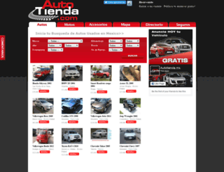 autotienda.mx screenshot