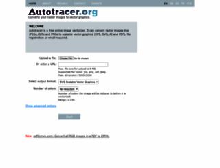 autotracer.org screenshot