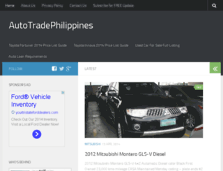 autotradephilippines.com screenshot