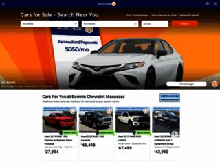 autotrader.com screenshot