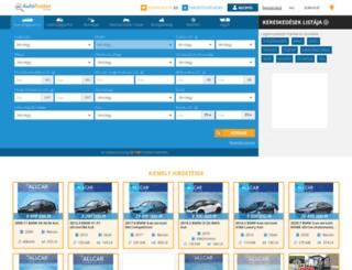 autotrader.hu screenshot