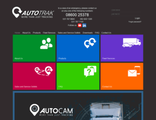 autotrak.co.za screenshot
