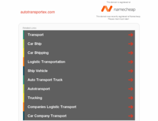 autotransportex.com screenshot