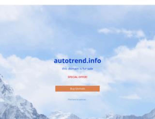 autotrend.info screenshot