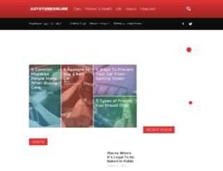 autotuneonline.com screenshot