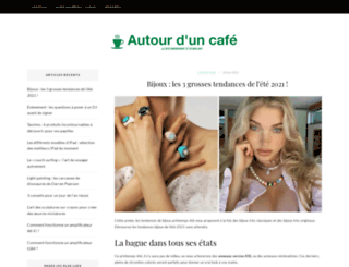 autourduncafe.fr screenshot