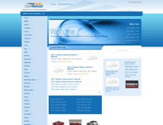 autousermanual.com screenshot