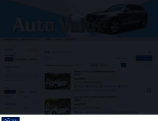 autovalue.car.gr screenshot