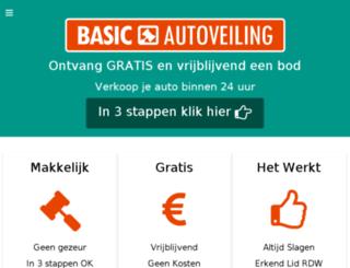 autoveiling-particulier.nl screenshot