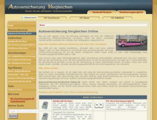 autoversicherung-vergleichen-online.de screenshot