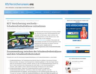 autoversicherung-wechseln.net screenshot