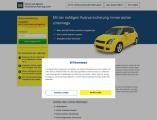 autoversicherung.com screenshot