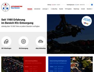 autoverwertung-neumann.de screenshot