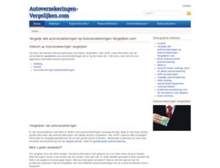 autoverzekeringen-vergelijken.com screenshot