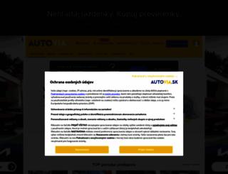 autovia.sk screenshot