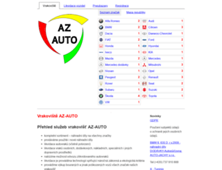 autovrakoviste.cz screenshot