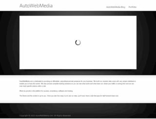 autowebmedia.com screenshot