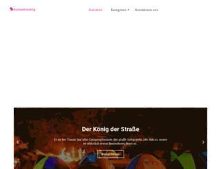 autowelt-koenig.de screenshot