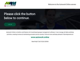 autowork-online.co.uk screenshot