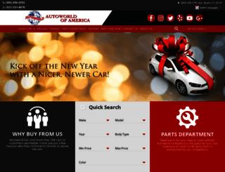 autoworldofamerica.com screenshot