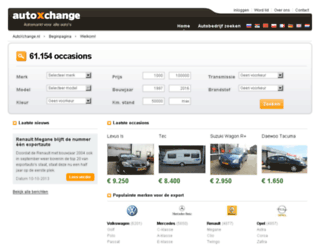 autoxchange.nl screenshot