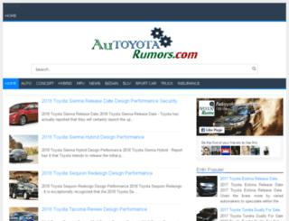 autoyotarumors.com screenshot
