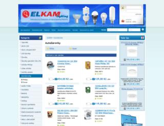 autozarovky.elkam.cz screenshot