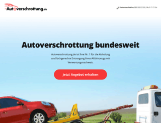 autozertruemmern.de screenshot