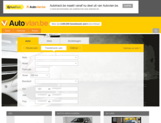 autozone.be screenshot