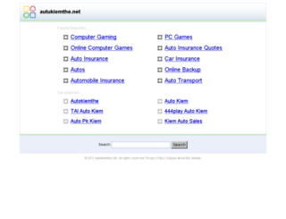 autukiemthe.net screenshot