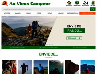 auvieuxcampeur.fr screenshot