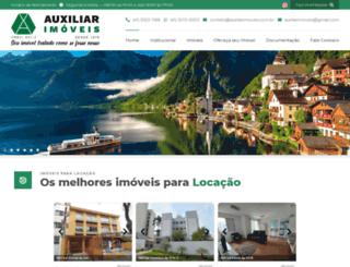 auxiliarimoveis.com.br screenshot
